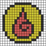 Alpha pattern #54979