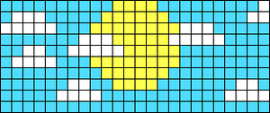 Alpha pattern #54988