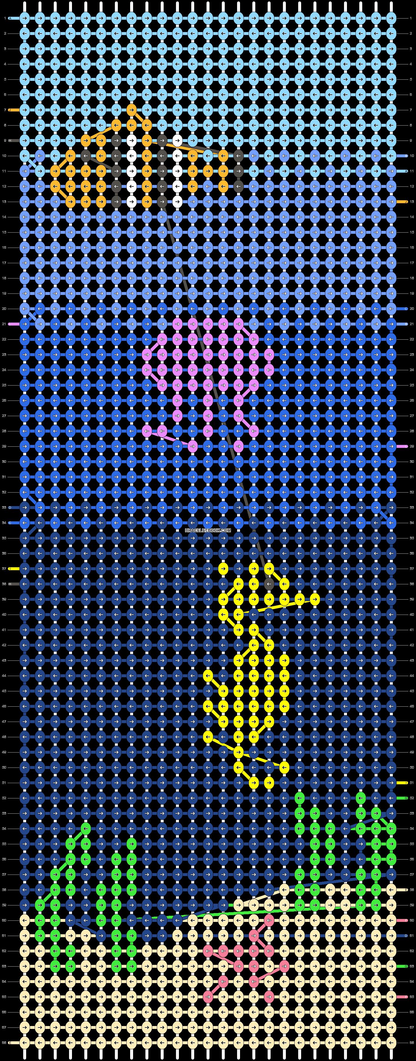 Alpha pattern #55014 pattern