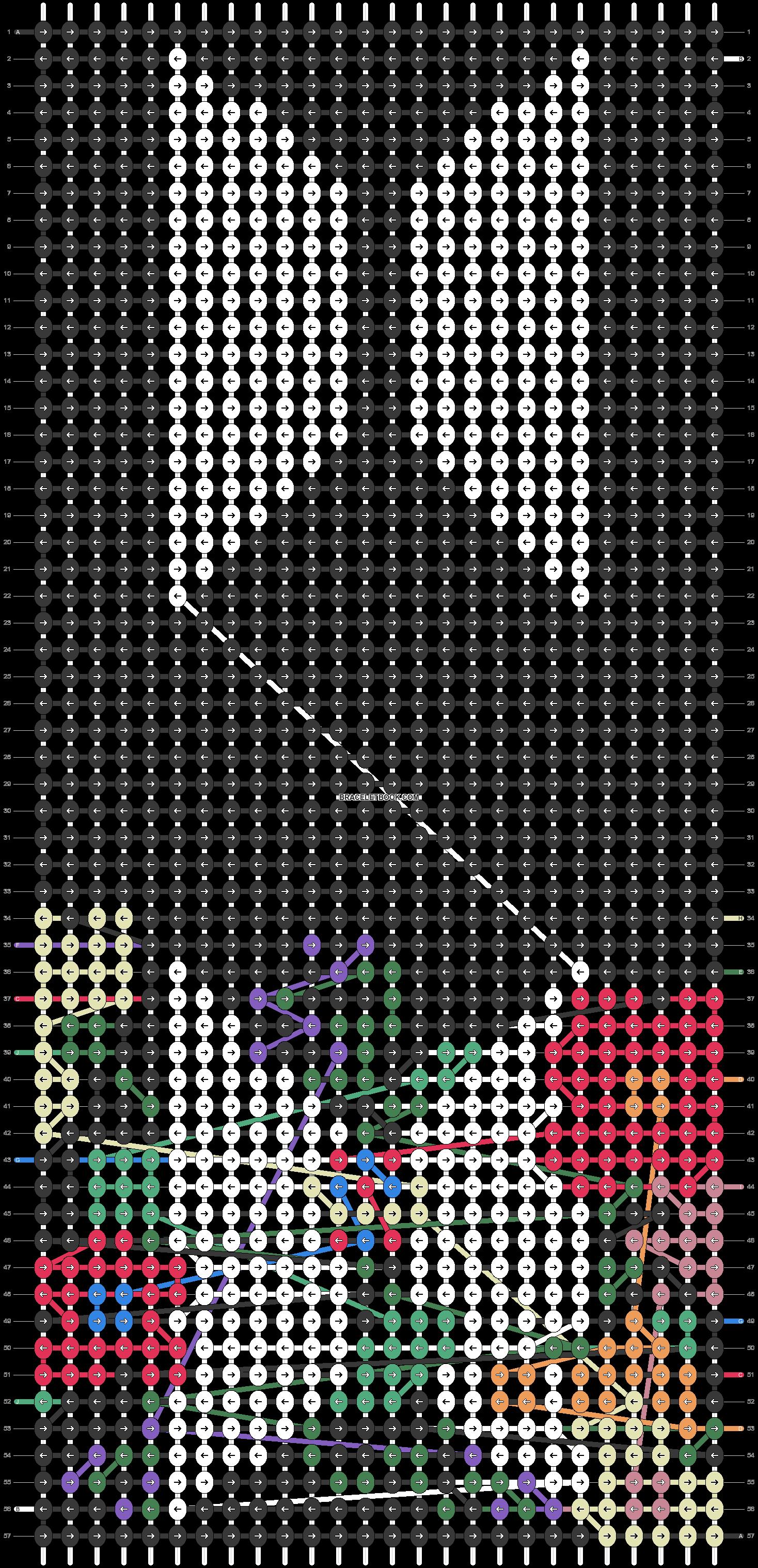Alpha pattern #55016 pattern