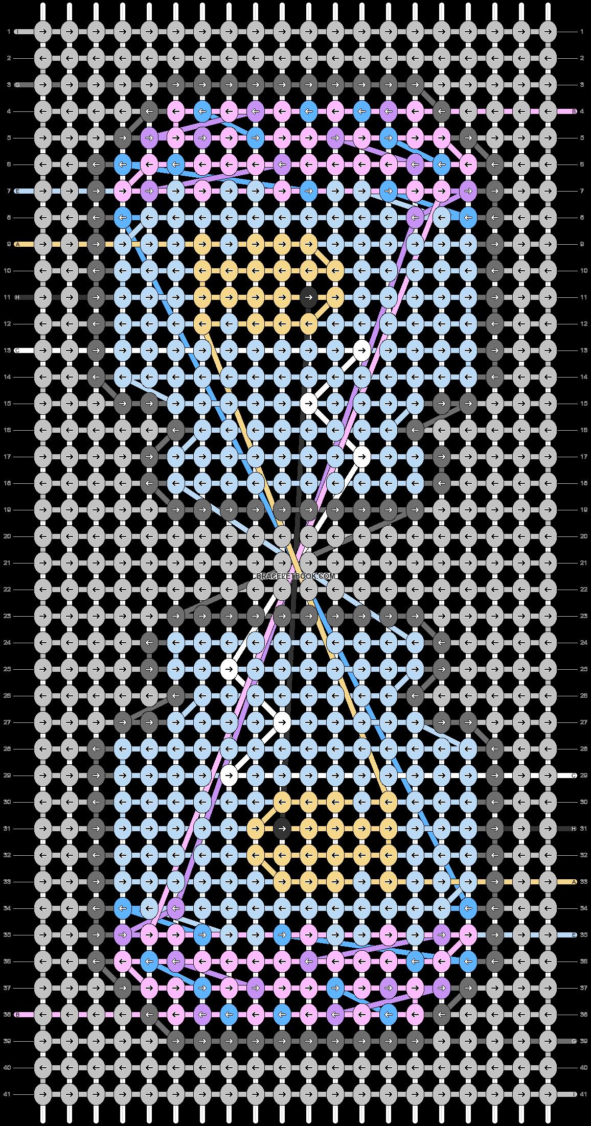 Alpha pattern #55023 pattern