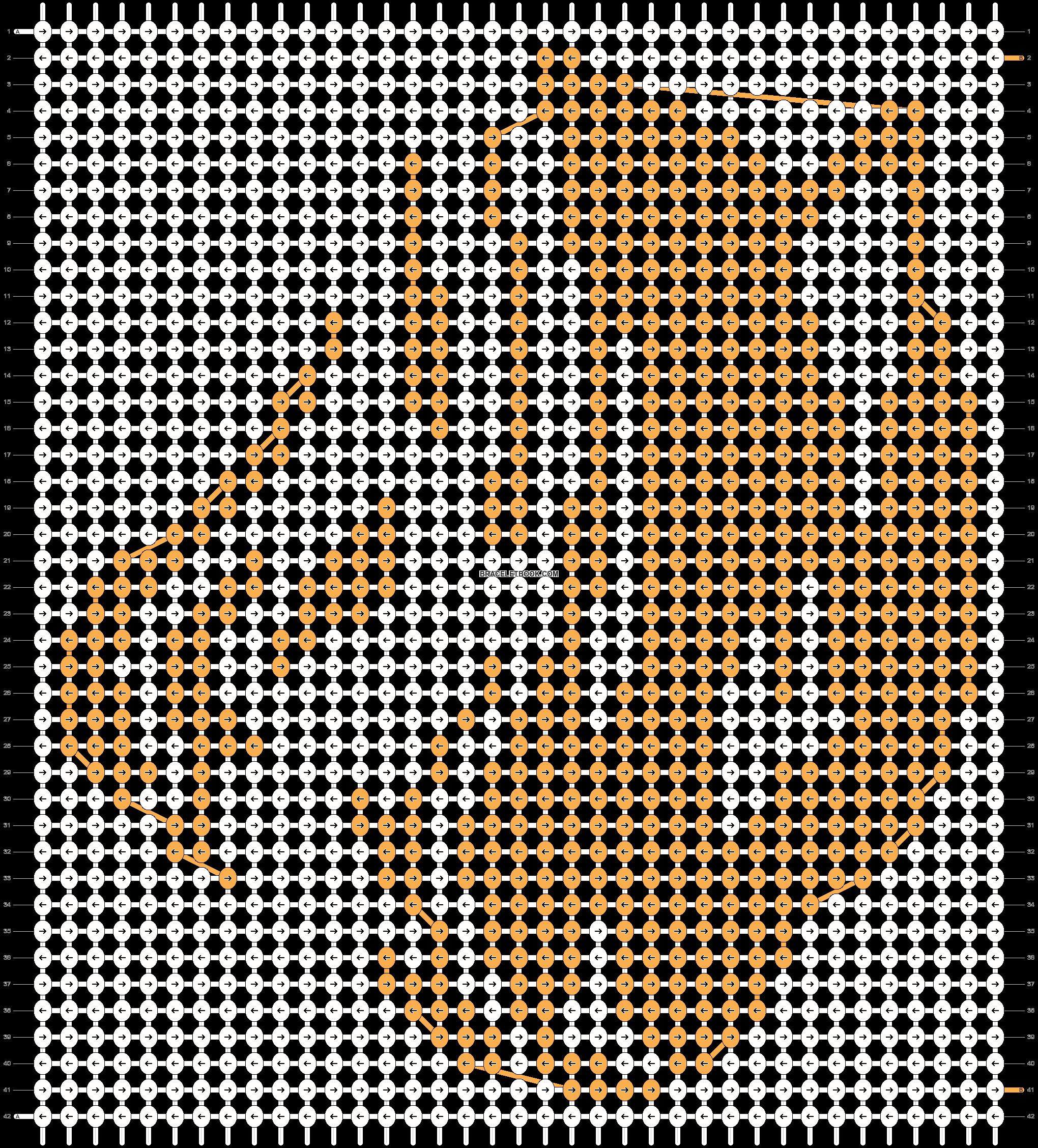 Alpha pattern #55034 pattern