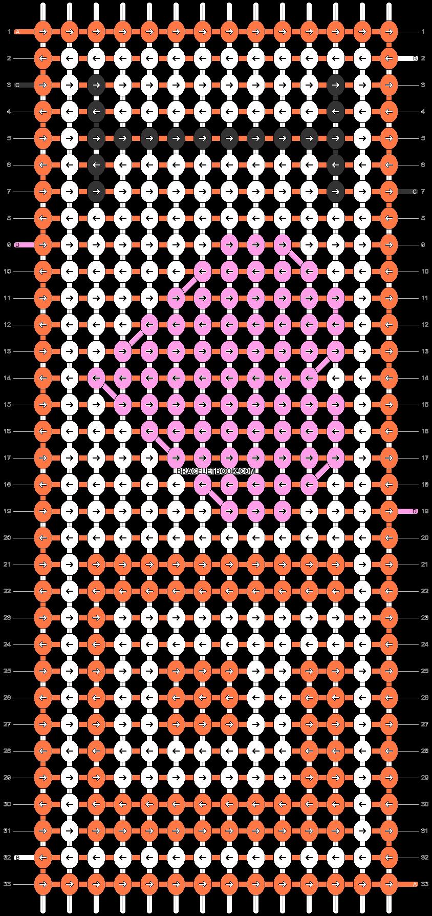 Alpha pattern #55053 pattern