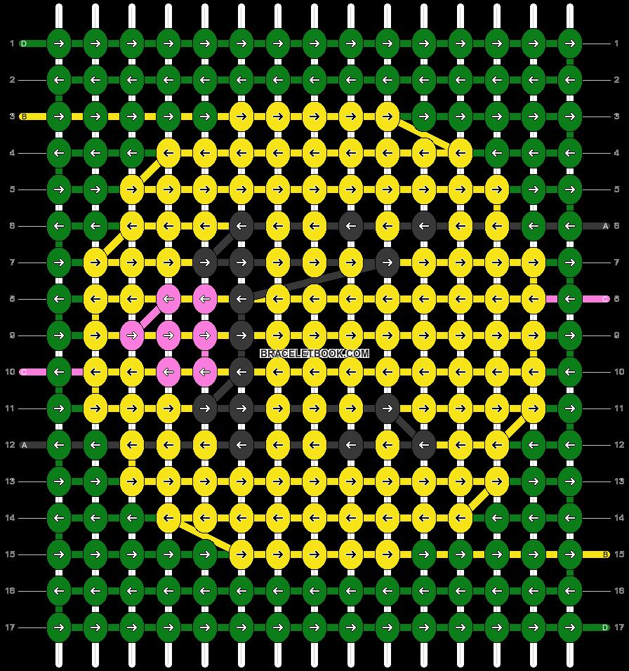 Alpha pattern #55059 pattern
