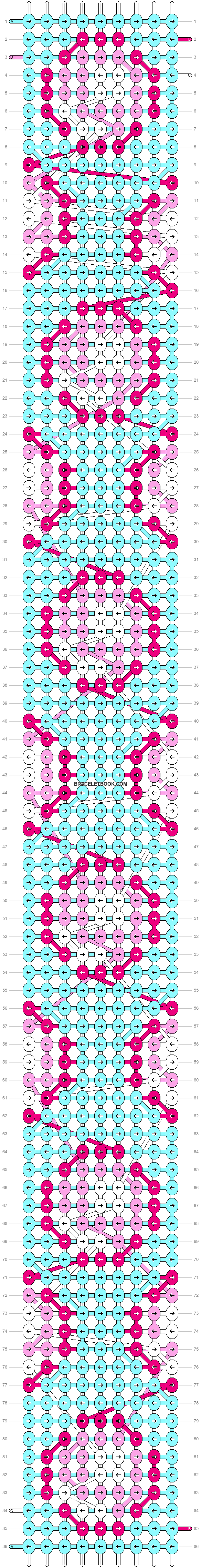 Alpha pattern #55062 pattern