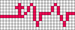 Alpha pattern #55065