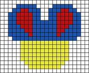 Alpha pattern #55085