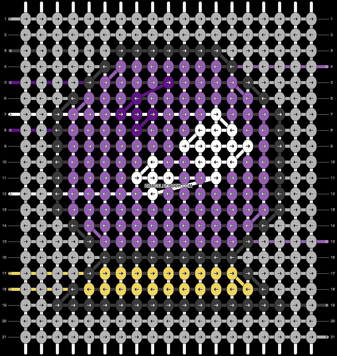 Alpha pattern #55089 pattern