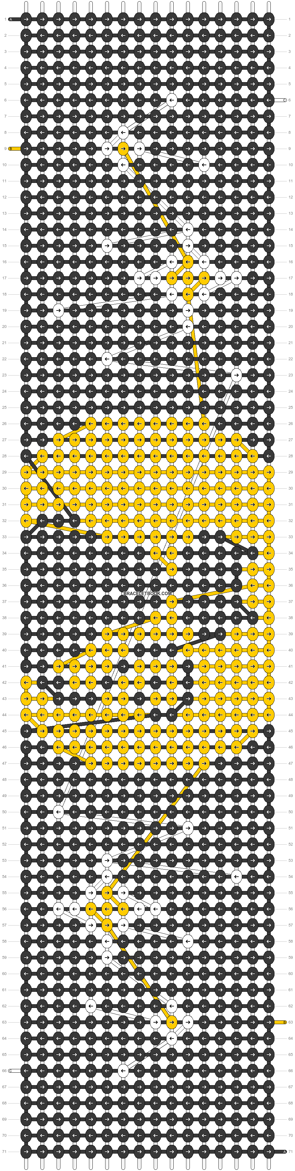 Alpha pattern #55132 pattern