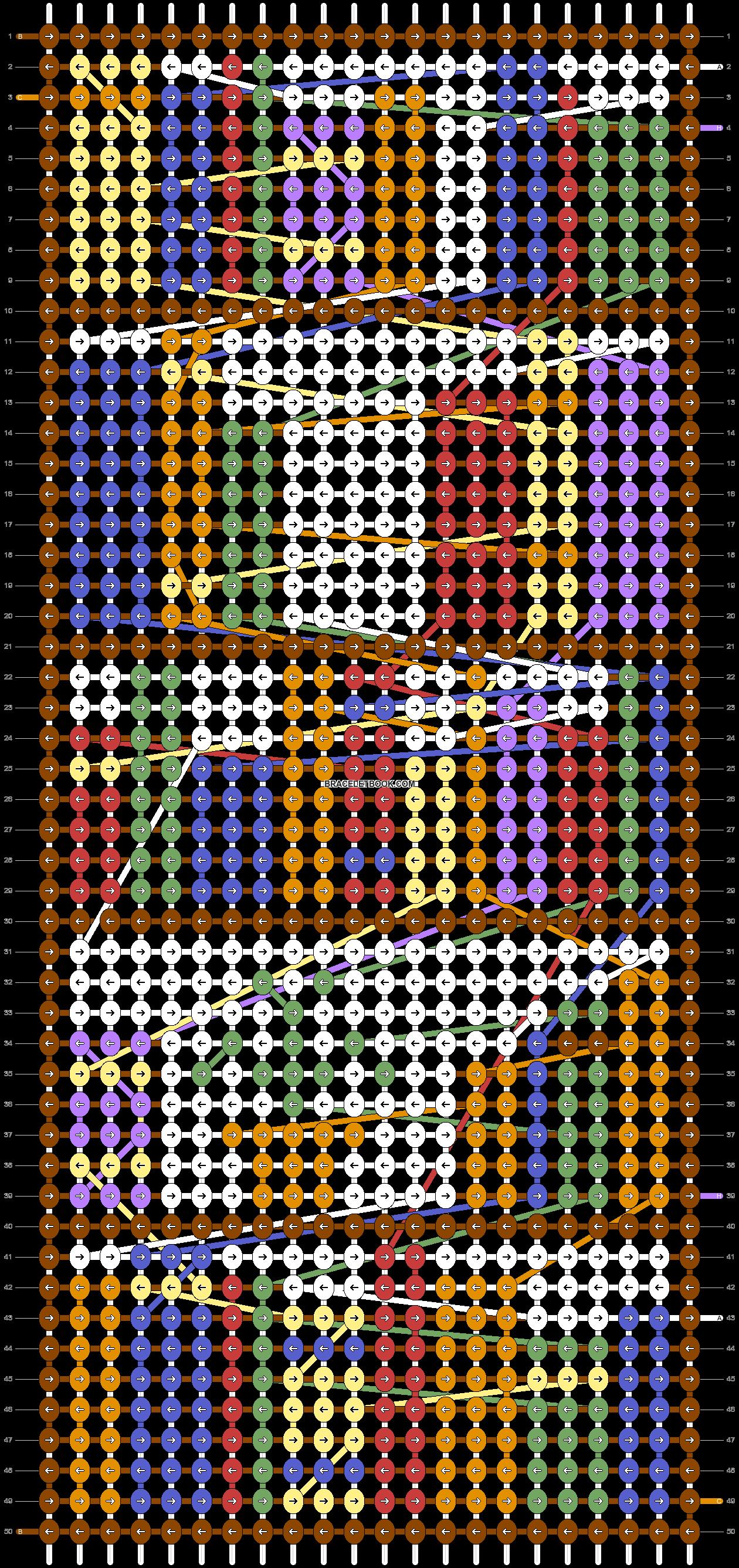 Alpha pattern #55134 pattern