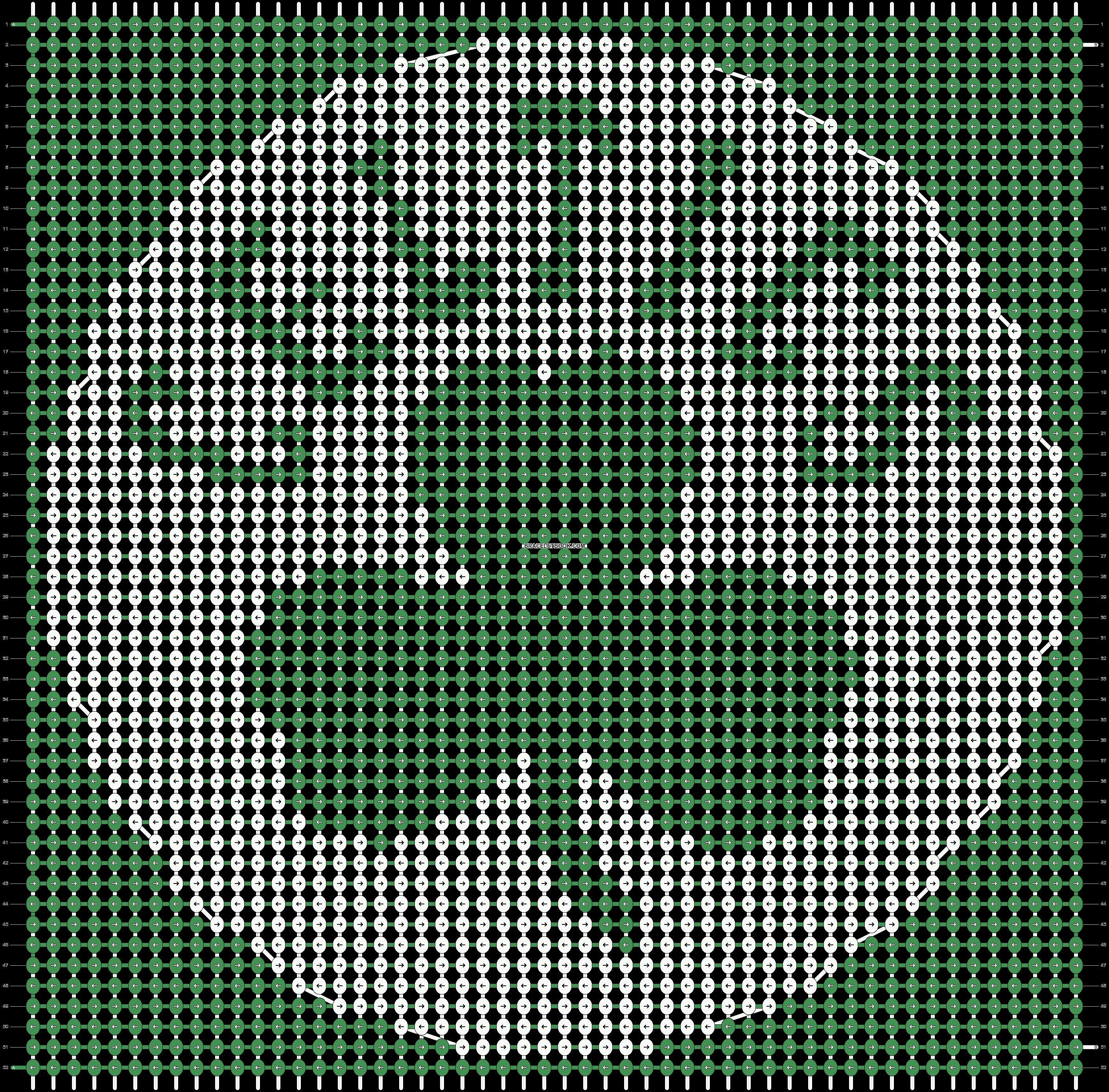 Alpha pattern #55136 pattern
