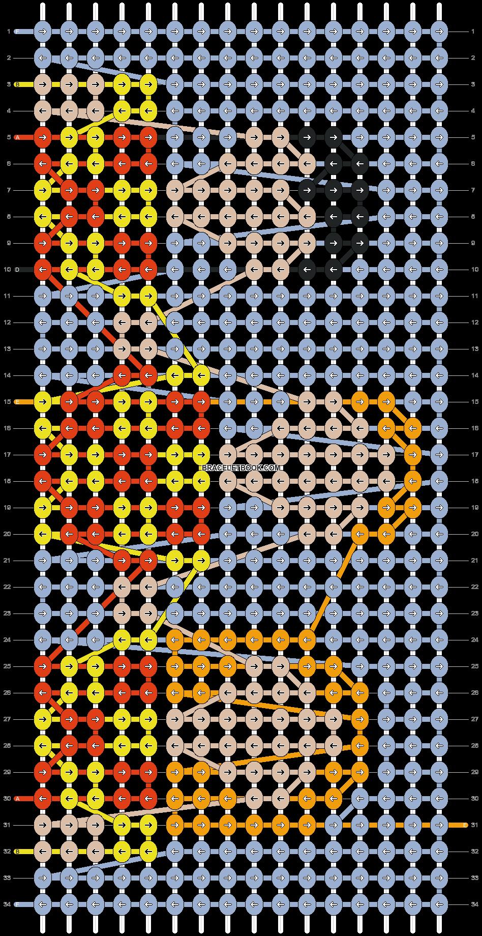 Alpha pattern #55149 pattern