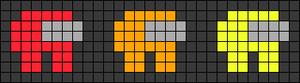 Alpha pattern #55151