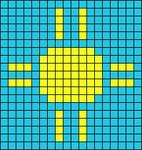 Alpha pattern #55165