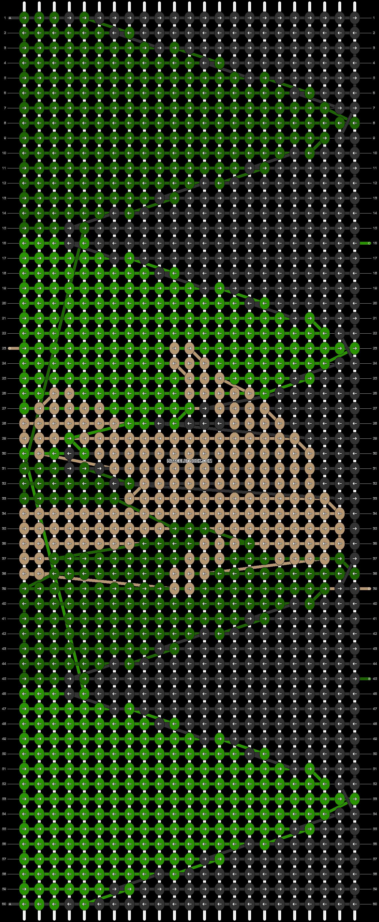 Alpha pattern #55186 pattern