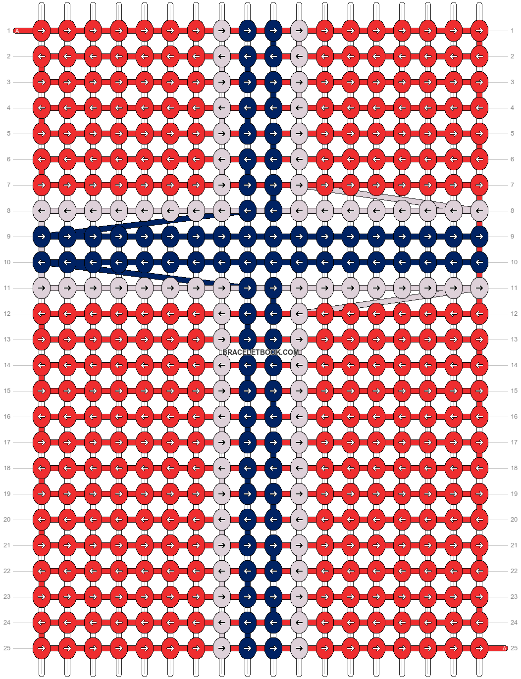 Alpha pattern #55210 pattern