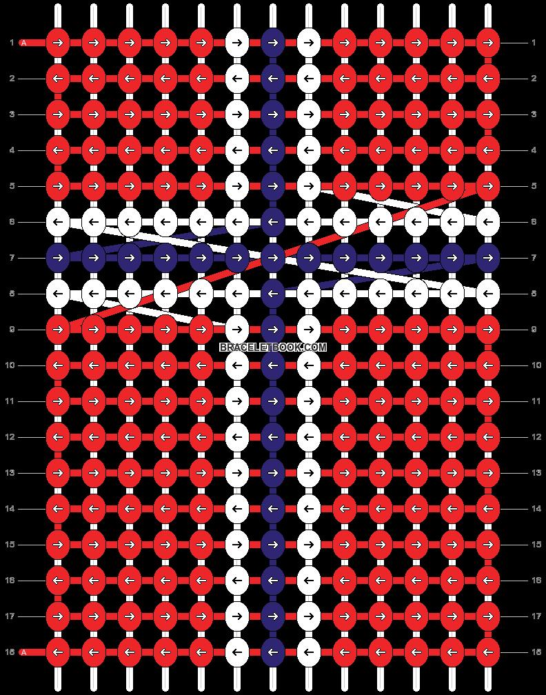 Alpha pattern #55211 pattern