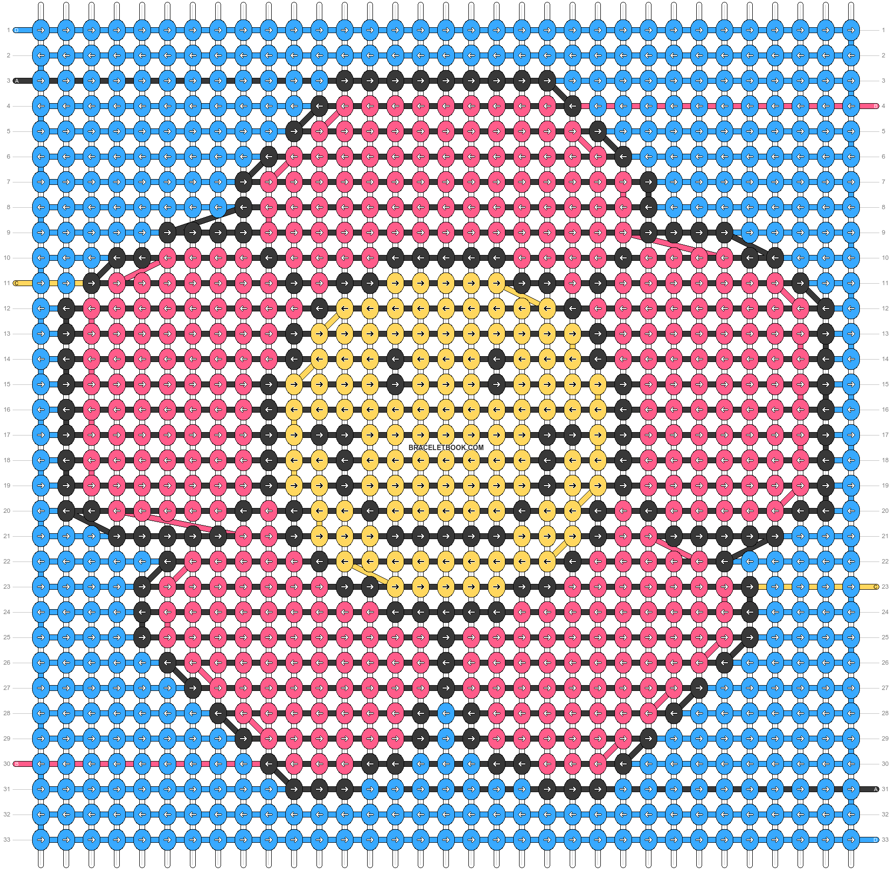 Alpha pattern #55216 pattern