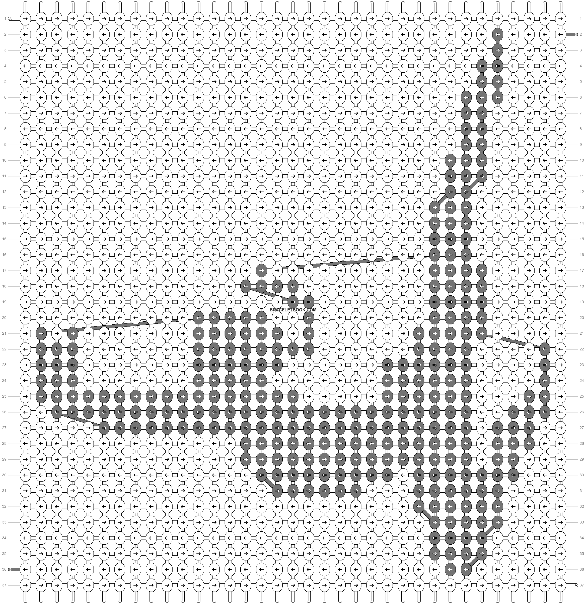 Alpha pattern #55221 pattern