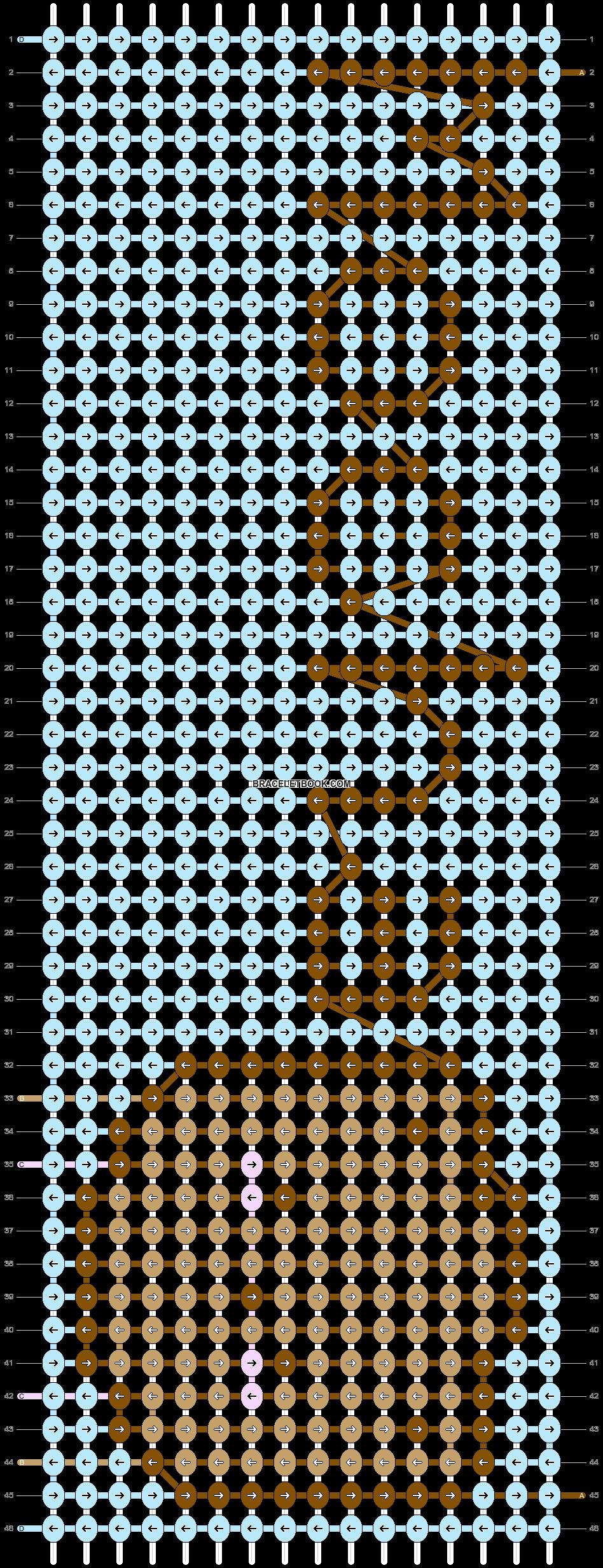 Alpha pattern #55234 pattern