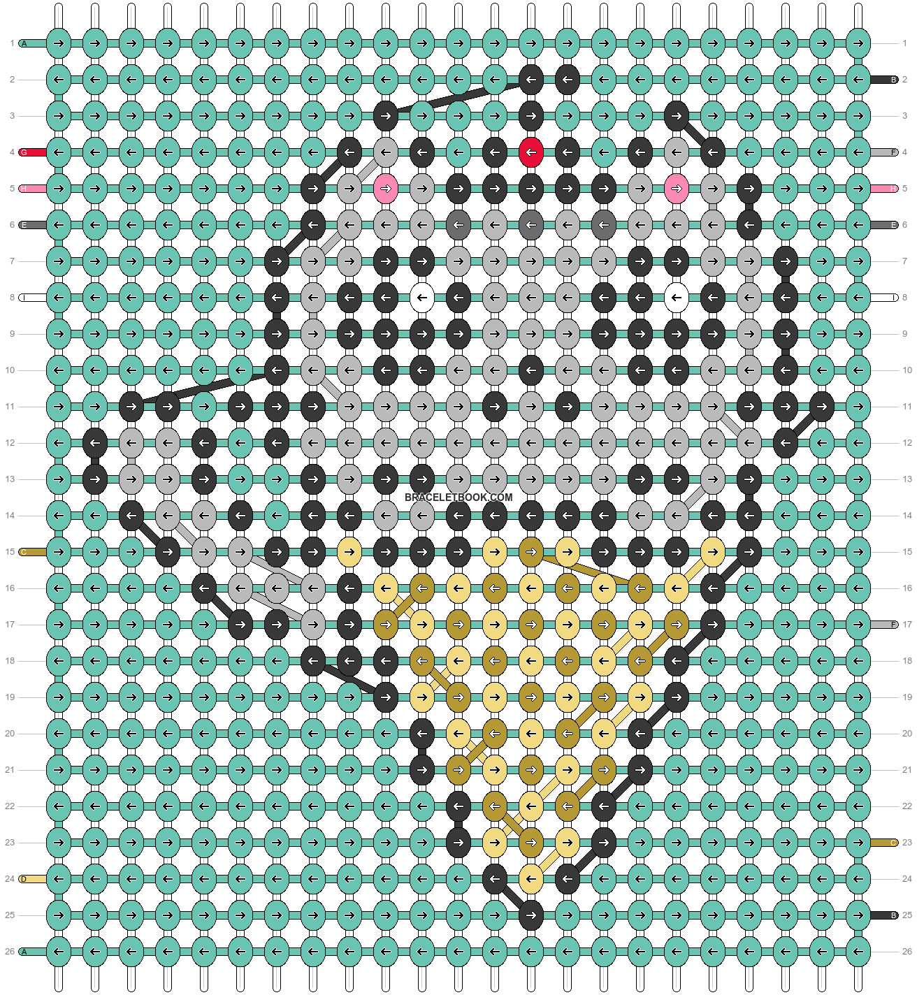 Alpha pattern #55238 pattern