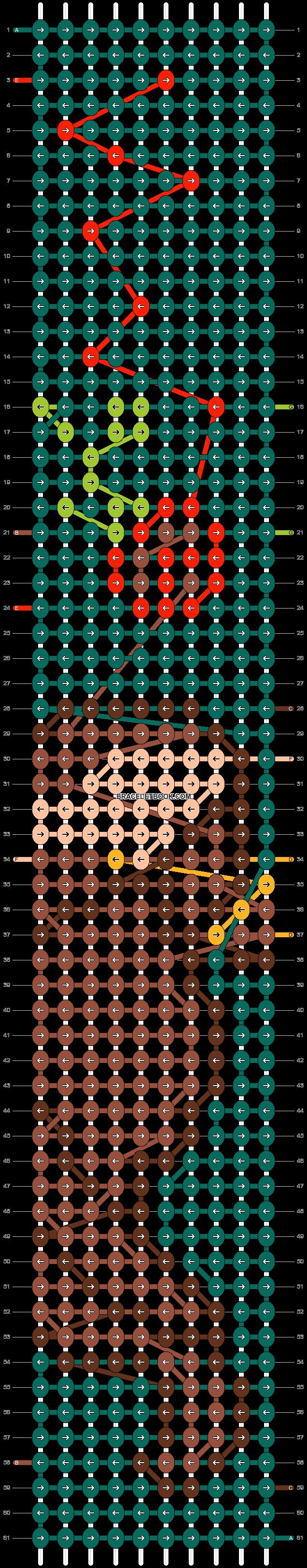 Alpha pattern #55243 pattern