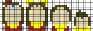 Alpha pattern #55256