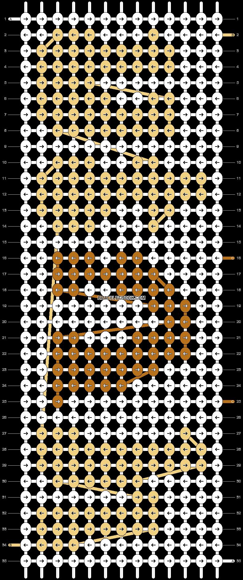 Alpha pattern #55268 pattern