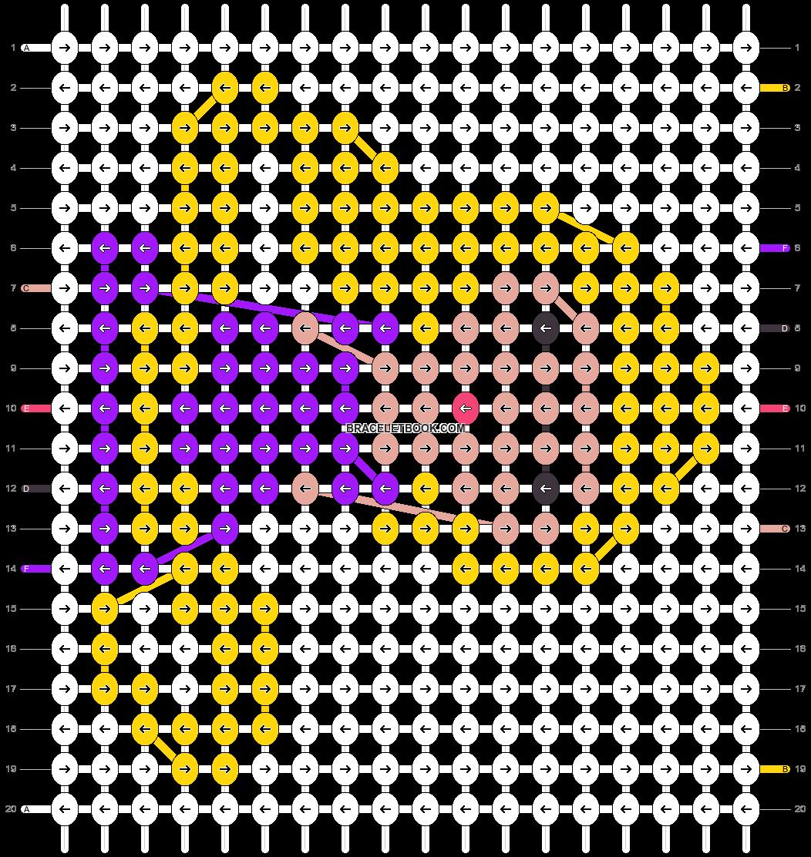 Alpha pattern #55270 pattern
