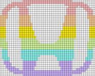 Alpha pattern #55282