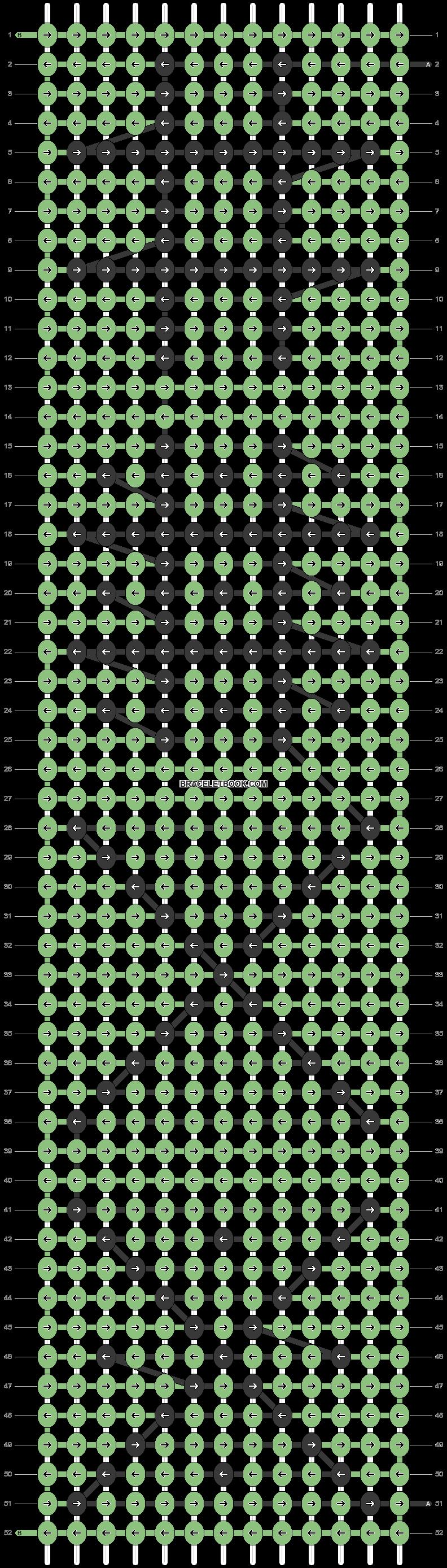 Alpha pattern #55312 pattern