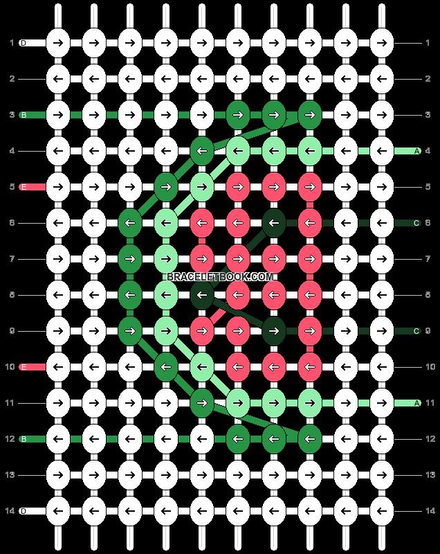 Alpha pattern #55333 pattern