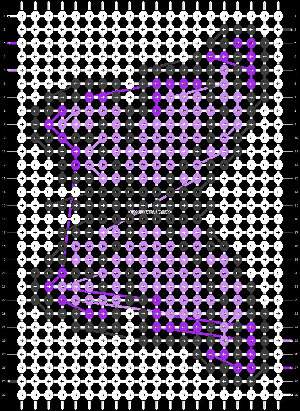 Alpha pattern #55335 pattern