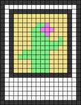 Alpha pattern #55336