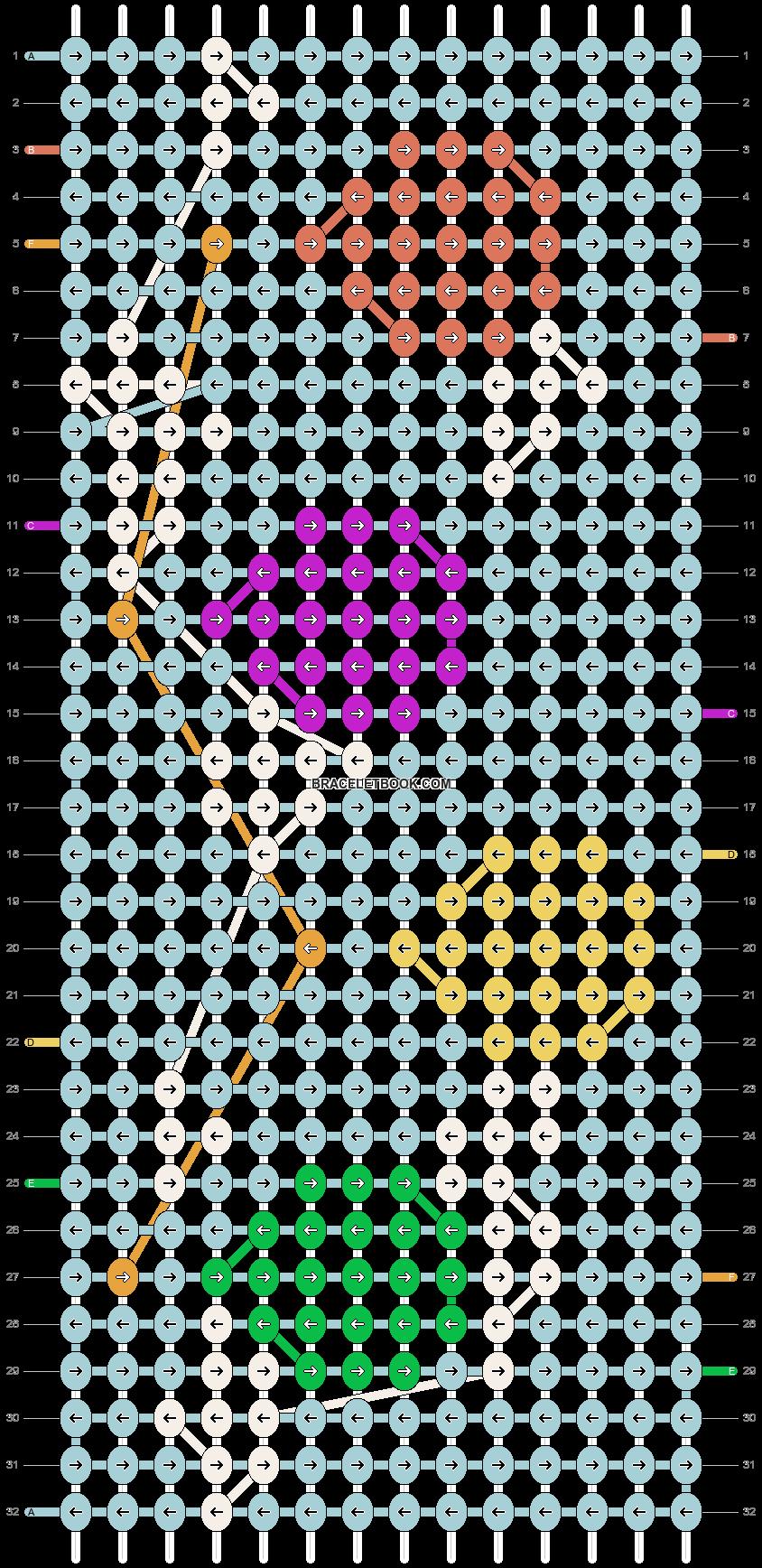 Alpha pattern #55362 pattern