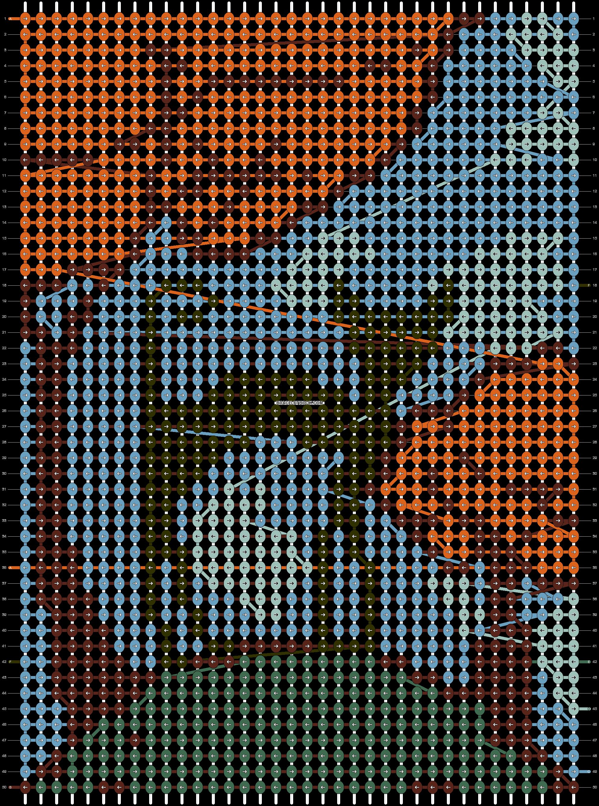 Alpha pattern #55366 pattern
