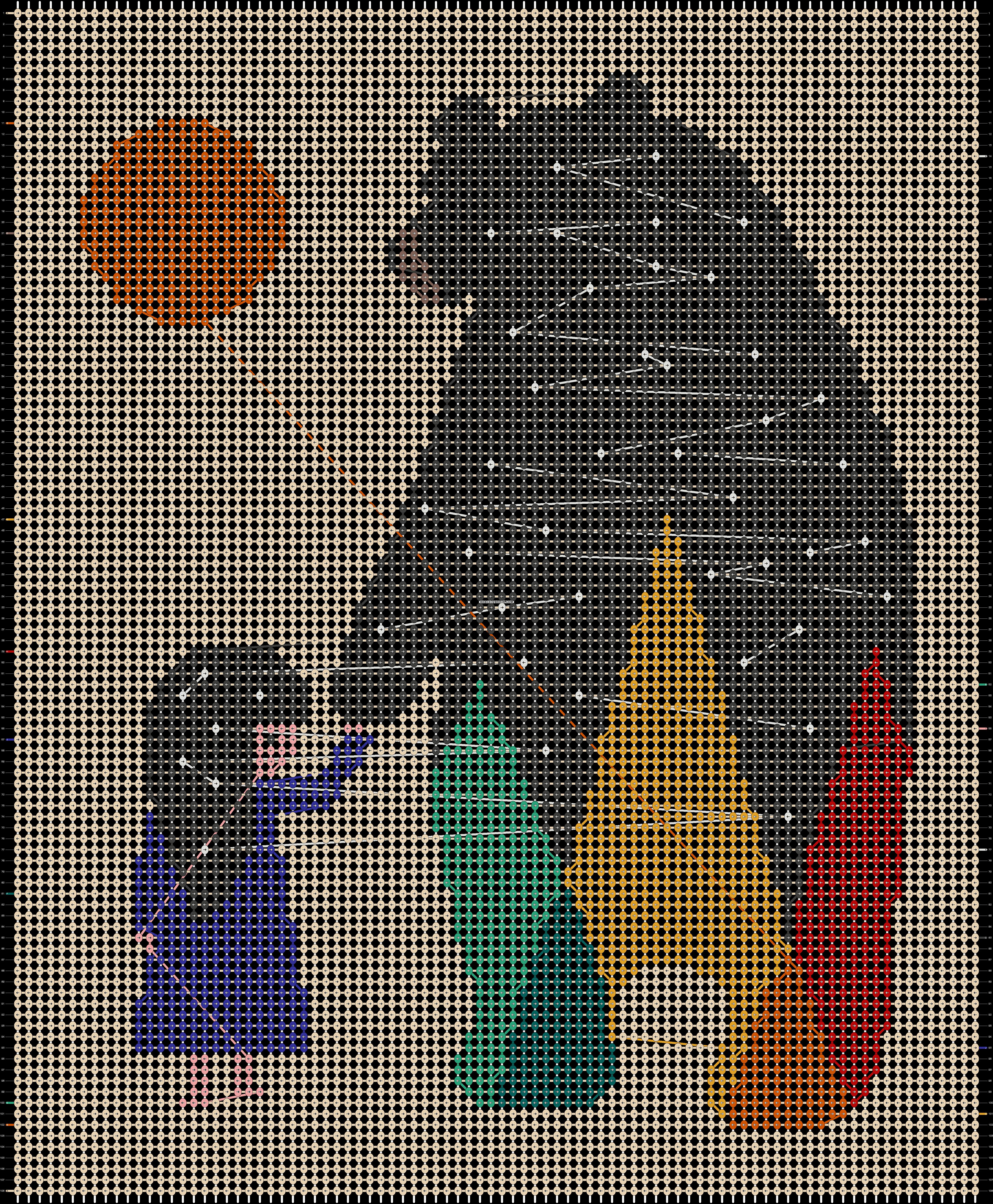 Alpha pattern #55398 pattern