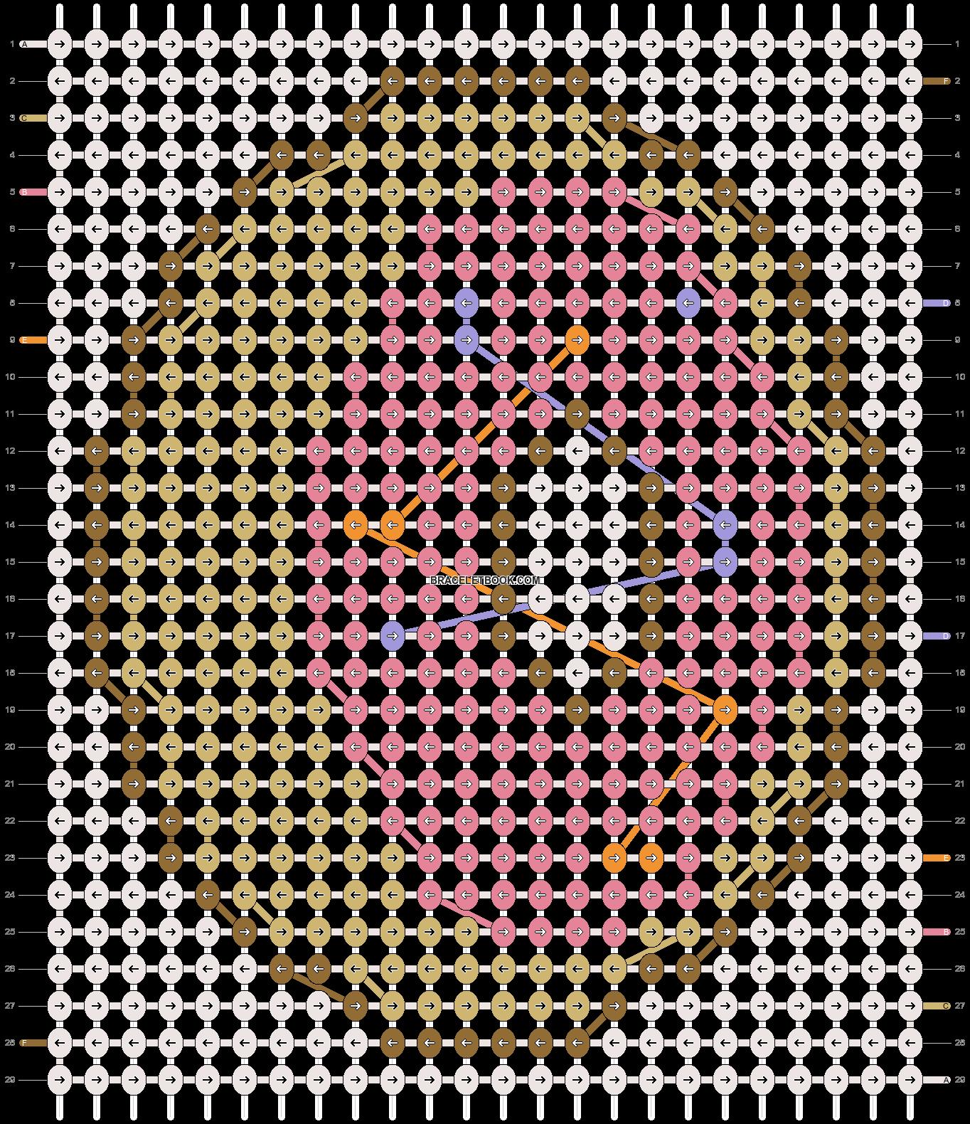 Alpha pattern #55402 pattern