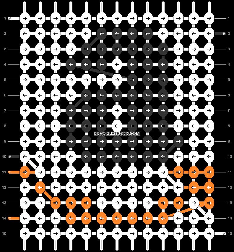 Alpha pattern #55442 pattern