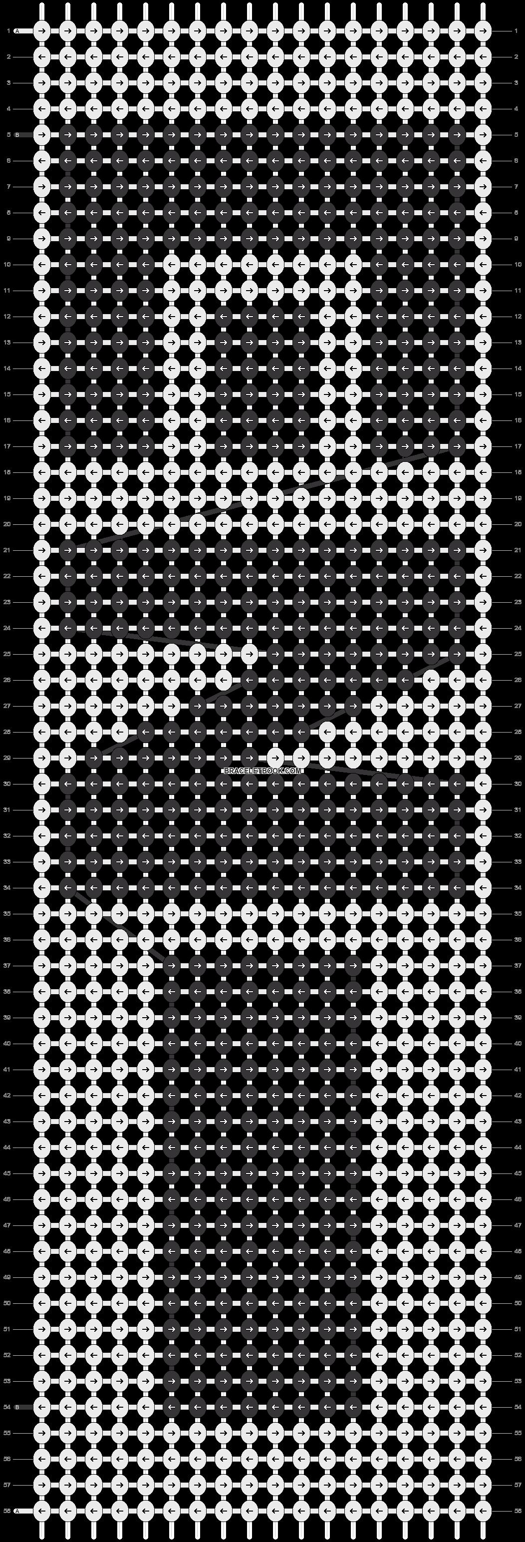 Alpha pattern #55448 pattern