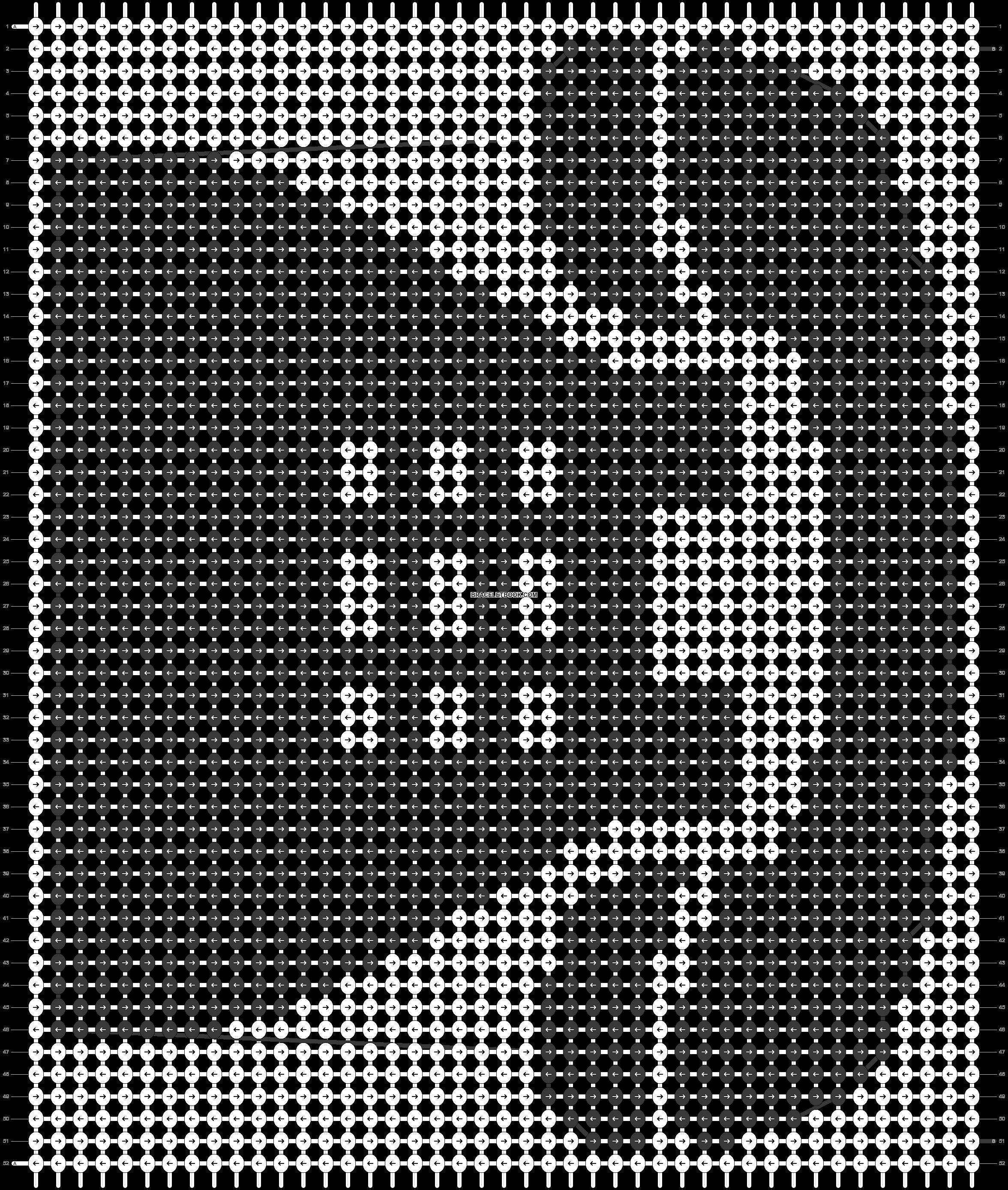 Alpha pattern #55450 pattern