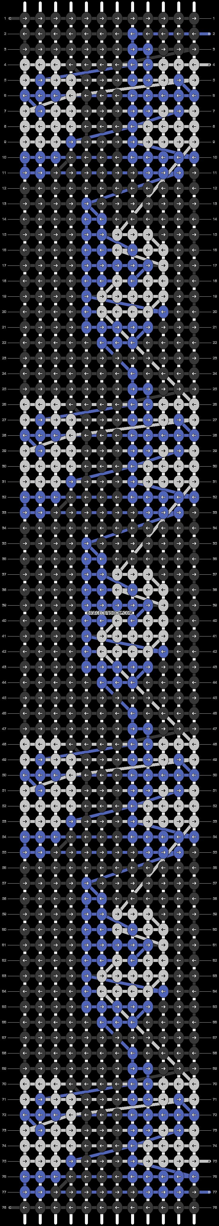 Alpha pattern #55453 pattern