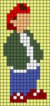 Alpha pattern #55458