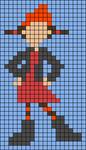 Alpha pattern #55463