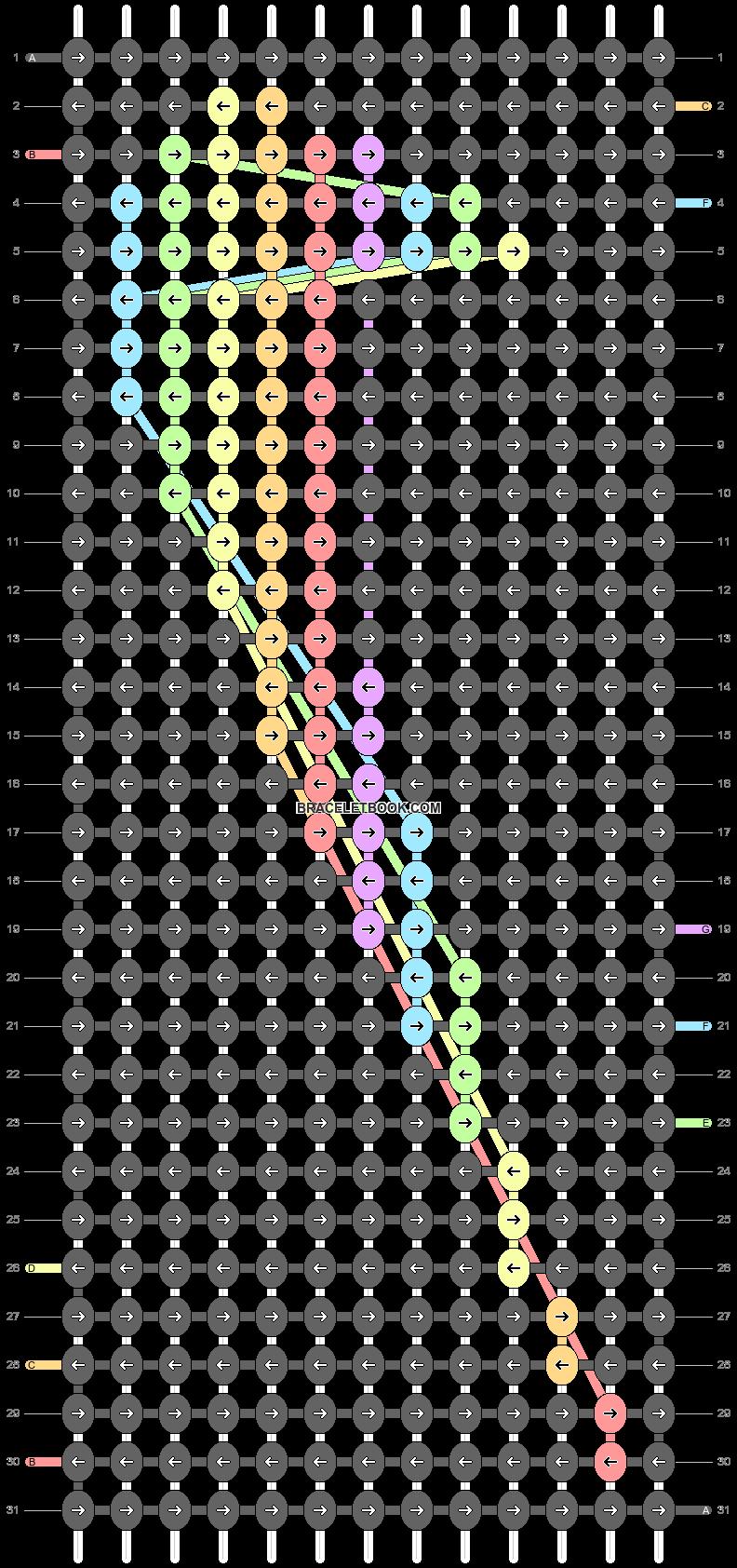 Alpha pattern #55480 pattern