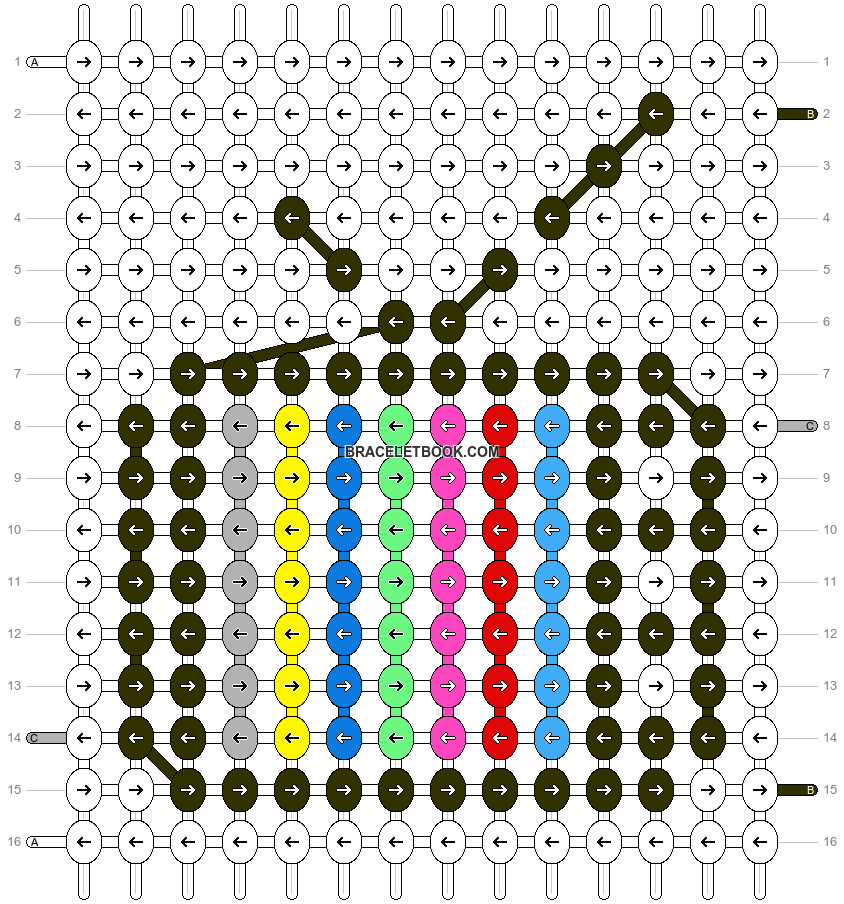 Alpha pattern #55487 pattern