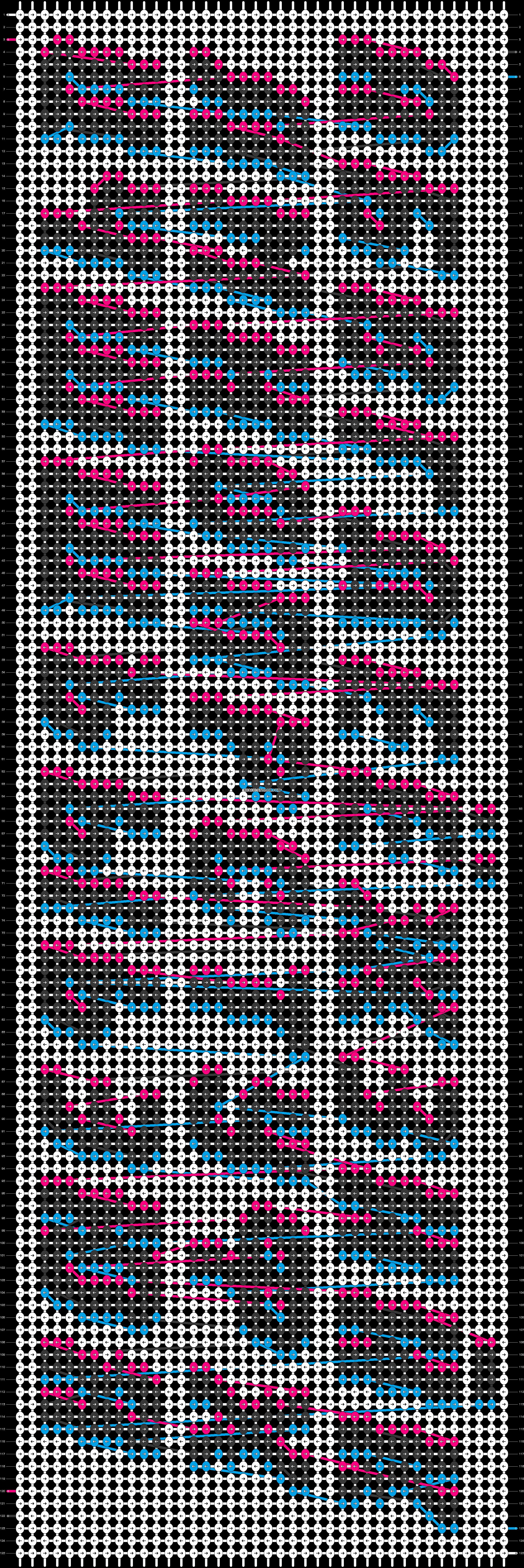 Alpha pattern #55521 pattern