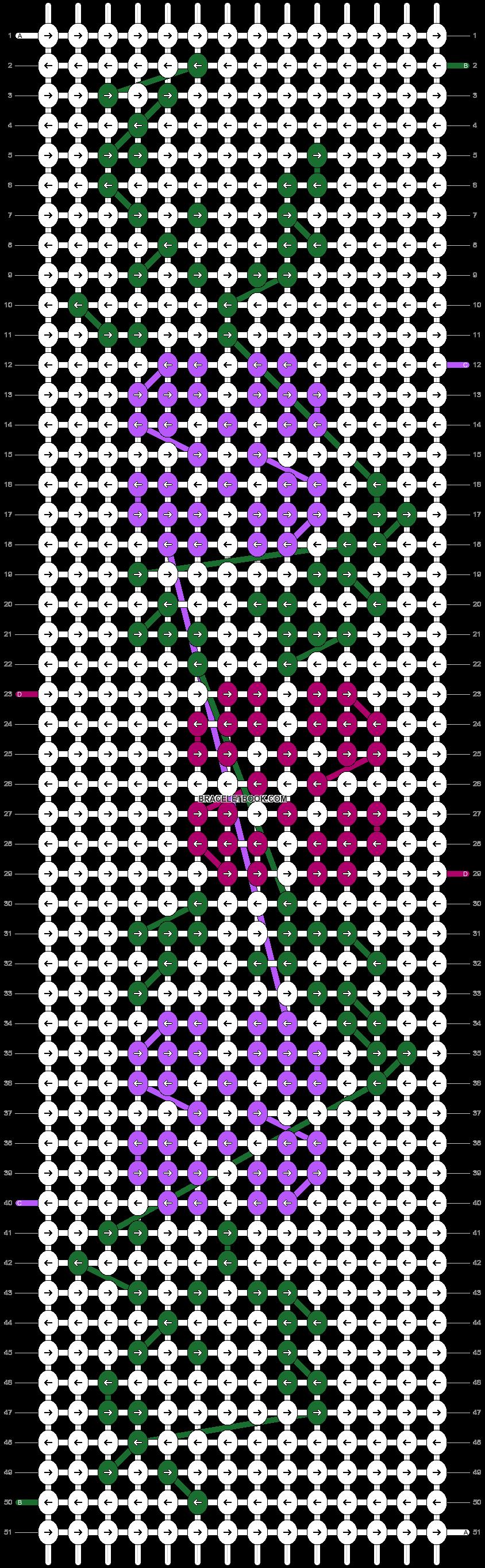 Alpha pattern #55527 pattern