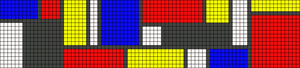 Alpha pattern #55548