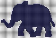 Alpha pattern #55550